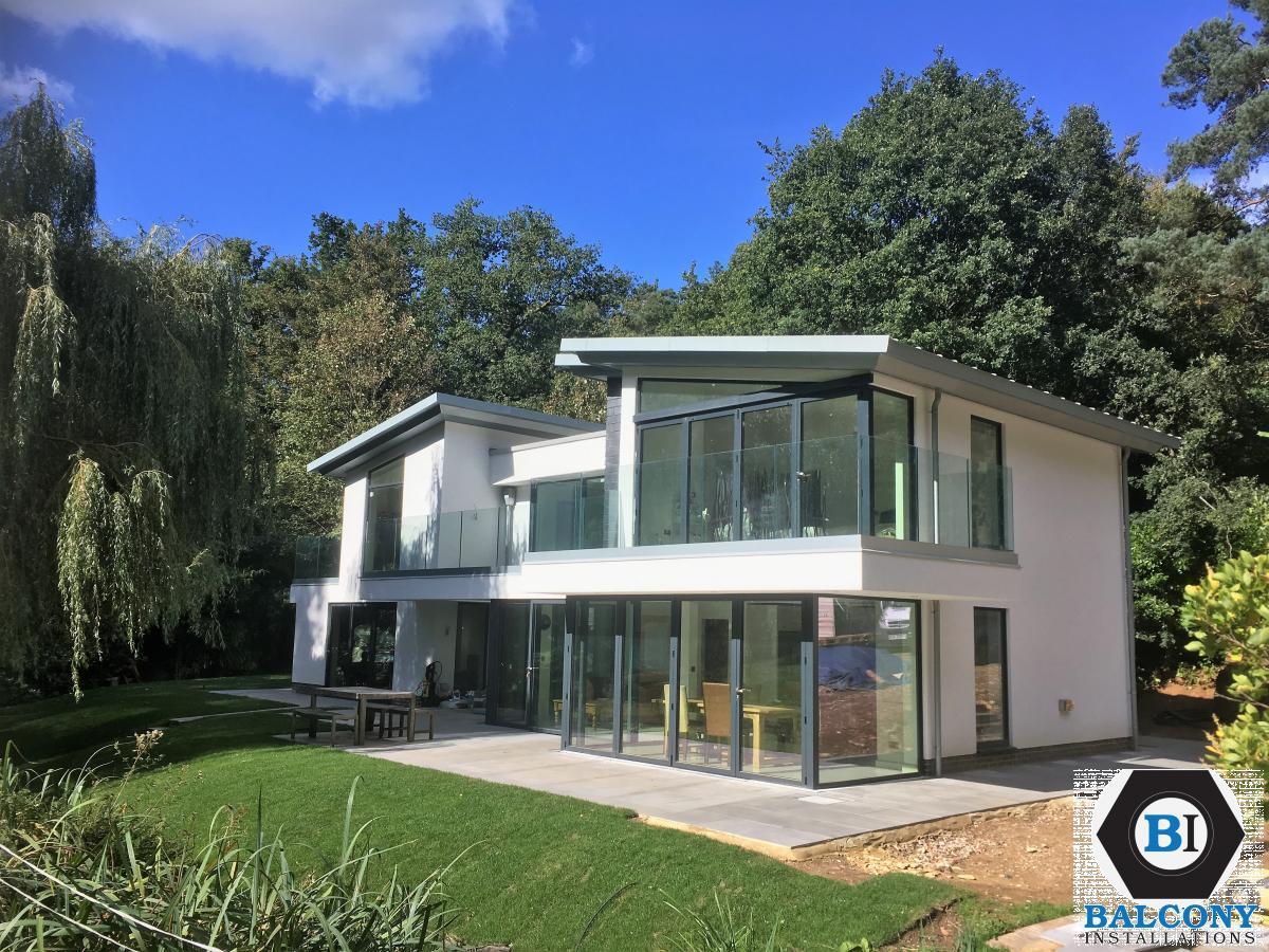 Balcony Installations - Frameless Glass balustrades
