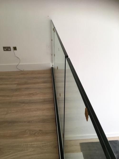 Balcony Installations - frameless glass balustrades with perfect glass alignments