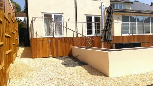 Balcony Installations wire rope balustrades
