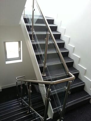 Staircase balustrades by Balcony Installations